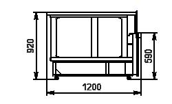 Element narożnik Missouri NC 120 self 092-ES90
