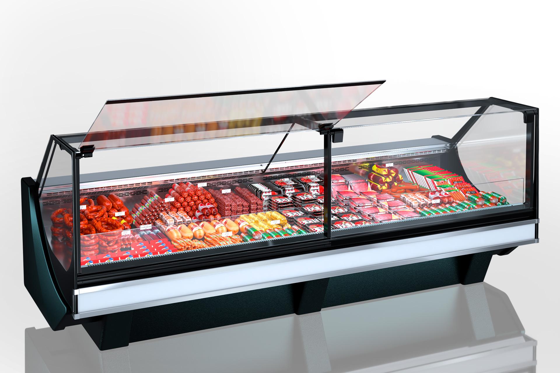 Refrigerated counters Missouri сold diamond MC 126 deli PS 130-DBM