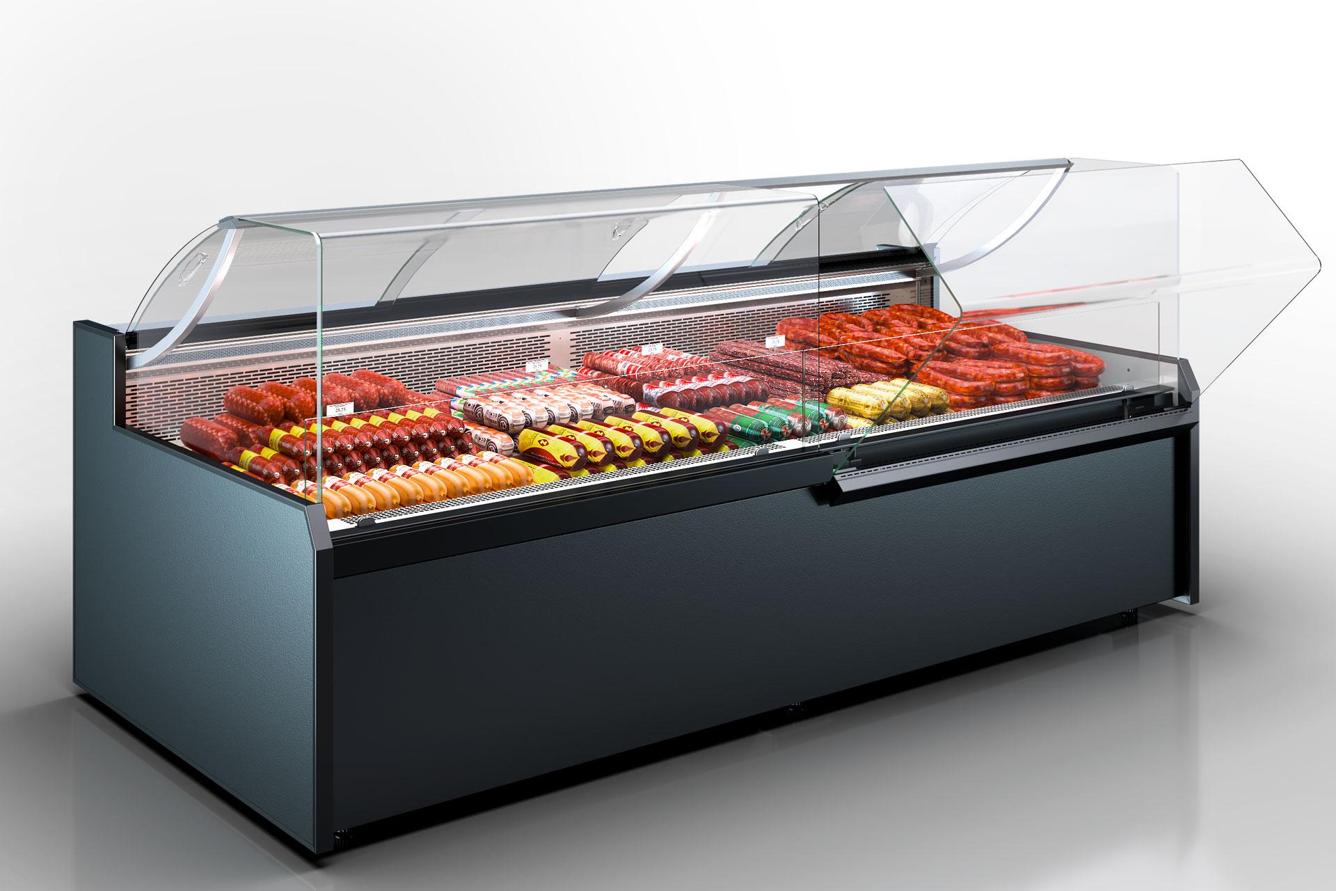 Refrigerating counters Missouri MC 120 deli OS 120-DBM (option)