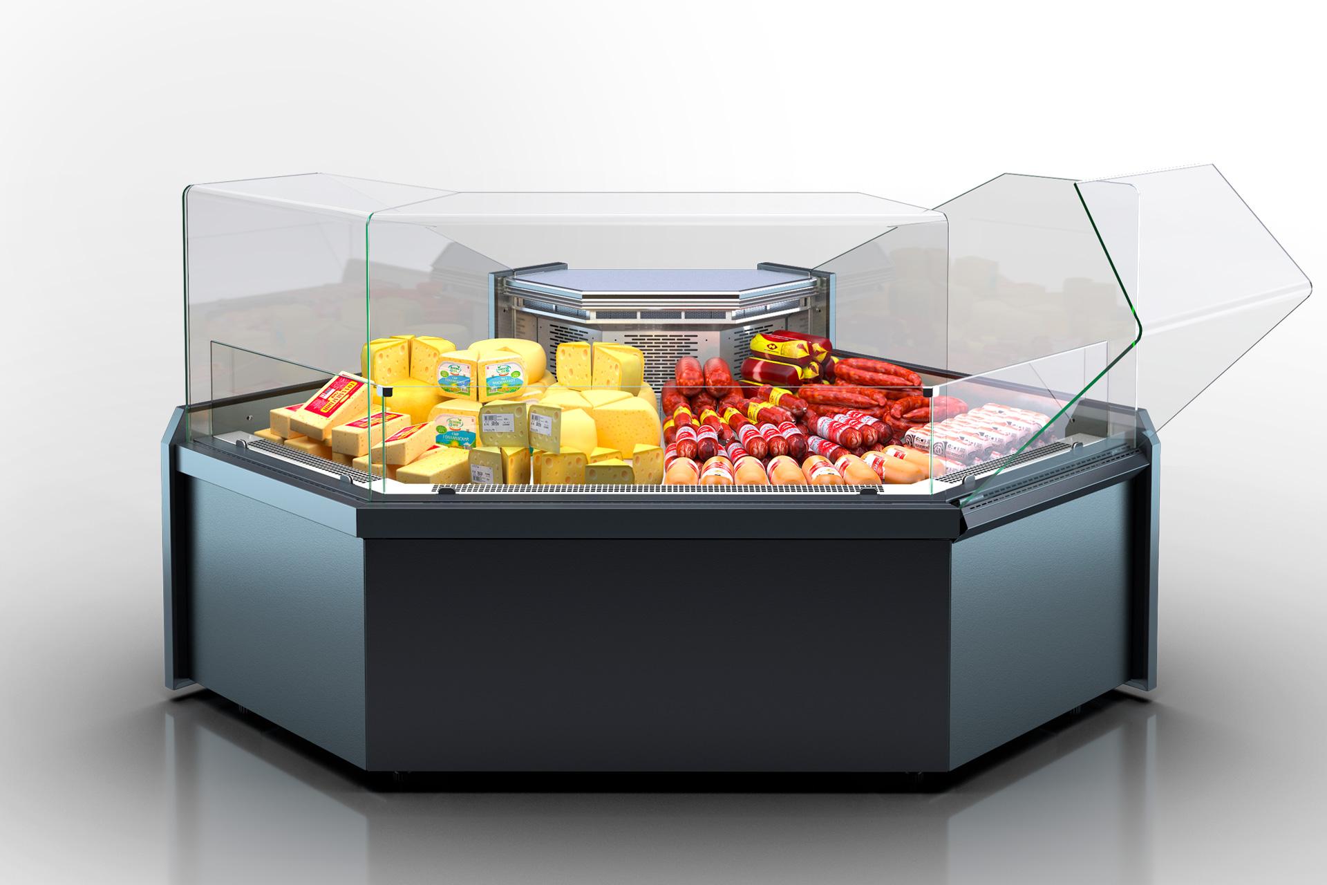 Angular elements of refrigerating counters Missouri MC 120 deli OS 130-DLM-ES90