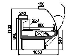 Counters Symphony MG 100 deli T 110-DLM/DLA