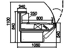 Counters Symphony MG 100 deli T2 110-DLM/DLA