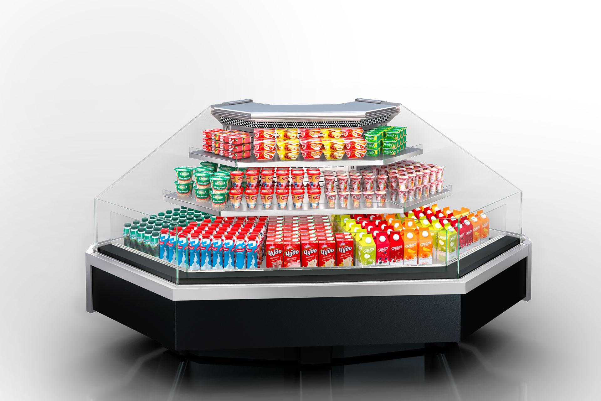 Refrigerated counters Missouri enigma MC 122 cascade self 130-DLM-ES90
