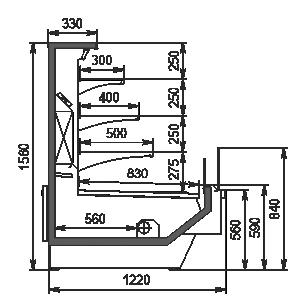 Lady chłodnicze Missouri Enigma MC 120 cascade self 160-DBM