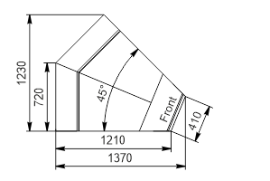 Angular element Missouri enigma MC 122 deli OS/self 115/084-DBM-IS45