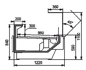 Lady chłodnicze Missouri enigma MC 122 deli OS 115-DBM (option)