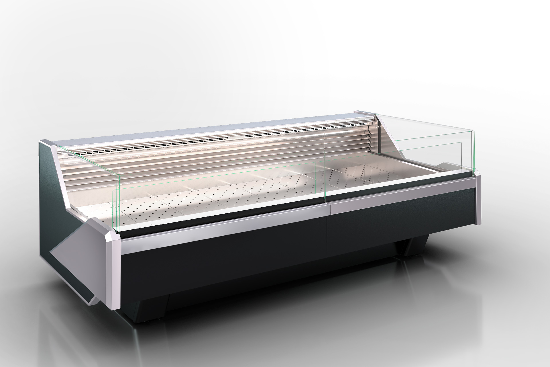 Refrigerated counters Missouri enigma MC 122 fish self 084-SPLM/SPLA