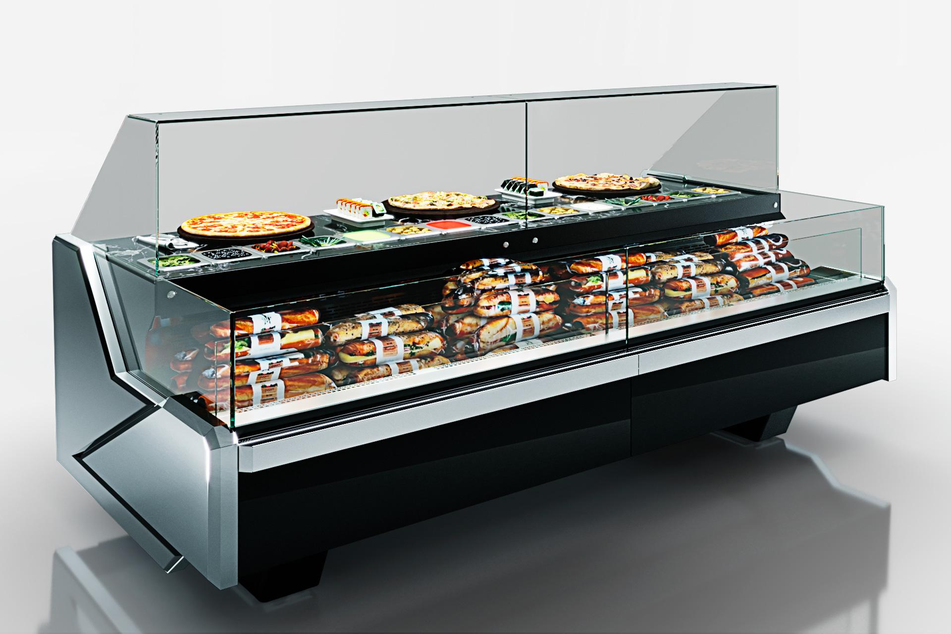 Lady Missouri enigma MC 125 sushi/pizza combi L self 120-DBM