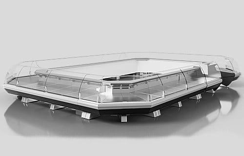 simfonija ljuks slim t - Sprzęt chłodniczy dla marketów – agregat zewnętrzny