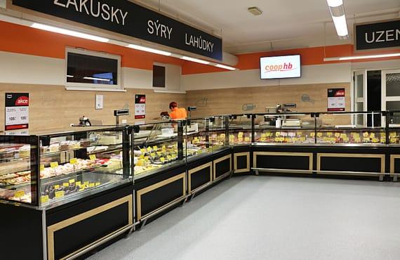 Czeski Retailer wybiera witryny HitLine