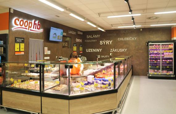 Eksport do Unii Europejskiej nabiera nowych obrotów: HitLine wyposażył nowe sklepy w Republice Czeskiej w urządzenia chłodnicze.