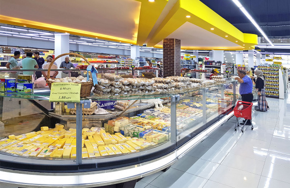 Qayali Gold Market Is A New Supermarket In Azerbaijan