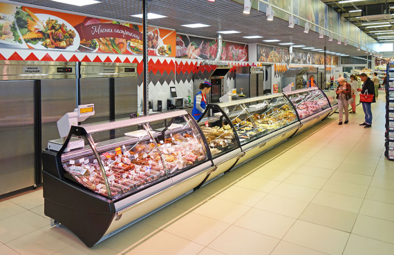 """Symfonia smaku w białoruskim supermarkecie """"Trio"""""""