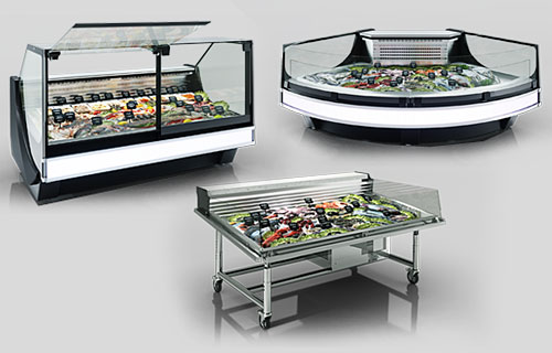 Specialized-counters-for-fish-and-seafood-sales