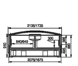 Urządzenia do żywności mrożonej Yukon cube AH 160/200 LT C 088-SLA