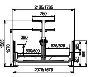 Urządzenia do żywności mrożonej Yukon cube MH 160/200 LT C 088-DLM z nadbudowką