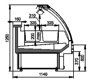 Counters Georgia NG 115 heat BM 125