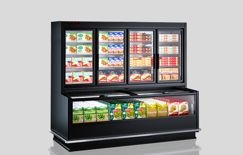 Urządzenia do żywności mrożonej Alaska combi MHV 110 LT D/C 200-DLM