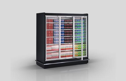 Multideck cabinets Indiana BD MV 080 MT D M