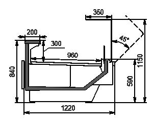 Lady chłodnicze Missouri enigma MC 122 deli OS 115-DBM