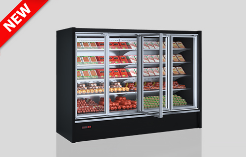 Refrigerated semi-vertical cabinets Indiana eco medium ASV 070 MT D 170-DLM/DLA
