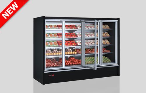 Niskie regały chłodnicze Indiana eco medium ASV 070 MT D 170-DLM