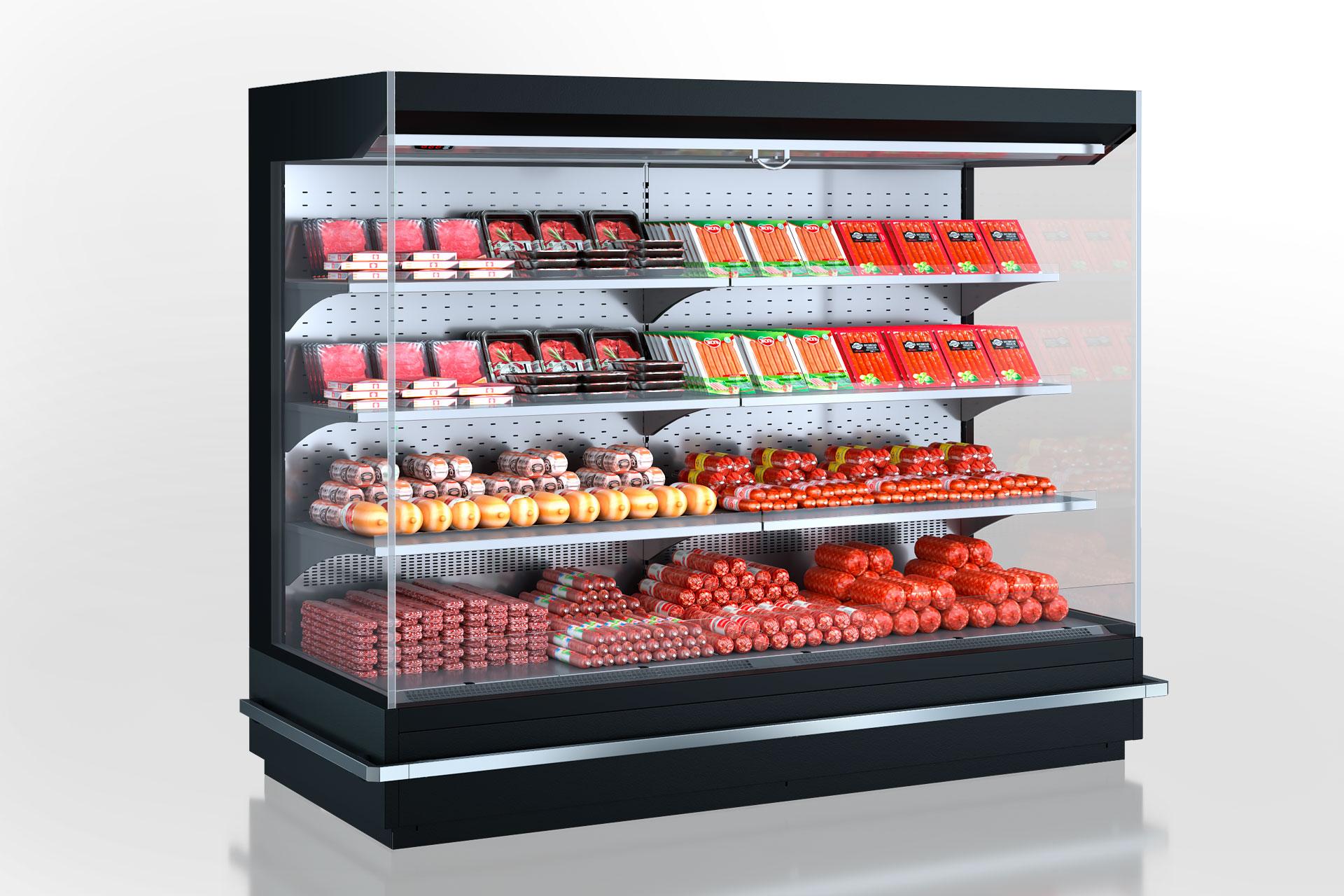 Refrigerated multideck cabinets Indiana MV 080 MT O 160-DLM