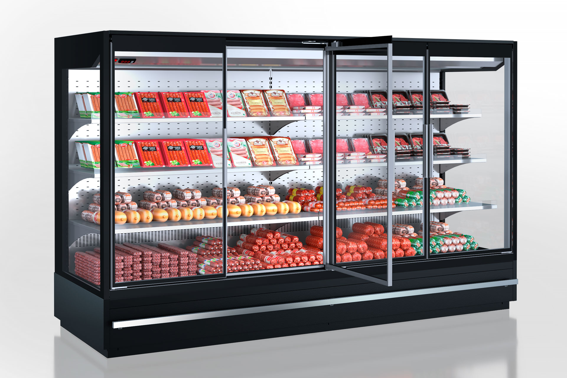 Refrigerated multideck cabinets Indiana MV 080 MT D 160-DLM